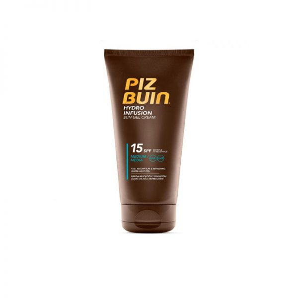 Piz Buin Hydro Infusion Gel Creme Solar SPF 15+ 150 ml