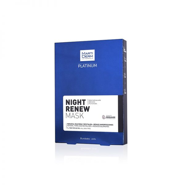 Martiderm Platin Night Renew Mask X5