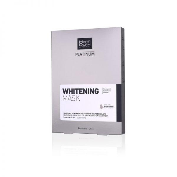 Martiderm Platin Whitening Mask X5
