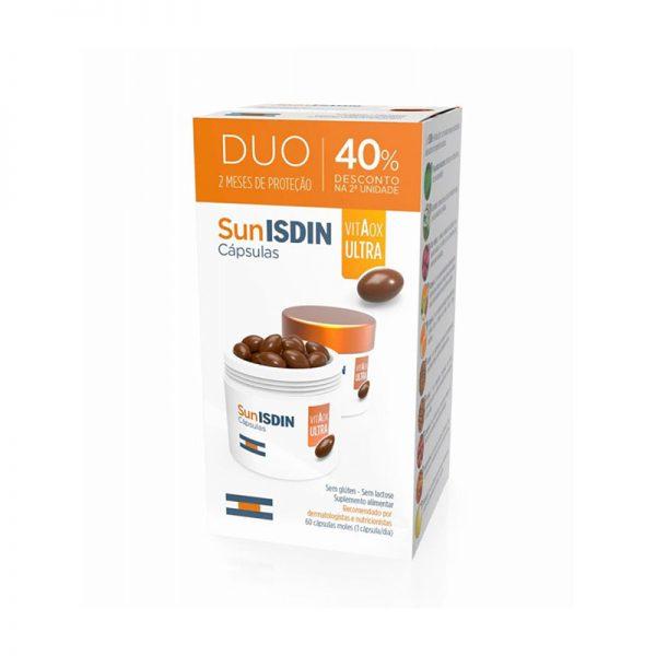 Isdin SunIsdin VitAox Ultra Cápsulas 40% Desconto 2ª Unidade 2x30cáps.