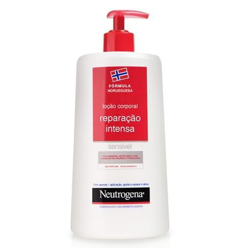 Loção corporal hidratante indicada para a pele sensível que se apresenta muito seca, com prurido e fragilizada.